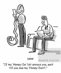 Honey Do List Cartoons And Comics Funny Pictures From Cartoonstock