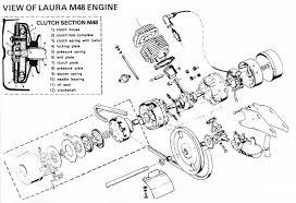 batavus moped parts diagrams laura m48 diagrams laura m48 92 engine cutaway · laura m48 02 engine and electrical 1