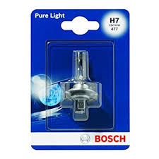 <b>Лампа</b> галогенная <b>BOSCH H7</b> Pure Light <b>12V</b> 55W, 1 шт ...