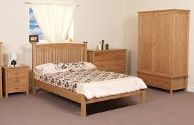 minimalist oak bedroom furniture decoration