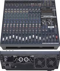 yamaha mixer. yamaha emx5016cf powered audio mixer