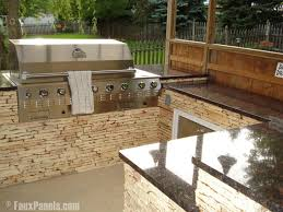 originally i was going to use a stone veneer was not an issue but the weight was my wife s company had built me