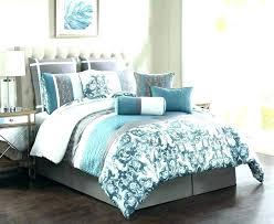 teal blue bedding comforter set king dark sets colored coastal bed