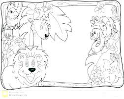 Coloring Pages Jungle Animals Desert Animals Coloring Pages Jungle