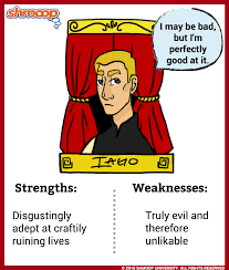 iago in othello character analysis