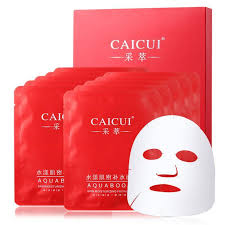 <b>10 Pcs Face</b> Whitening Facial Mask Deep Moisturizing Rejuvenating ...
