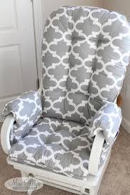 custom chair cushions glider cushions rocking chair cushions glider replacement cushions with glider arm rests