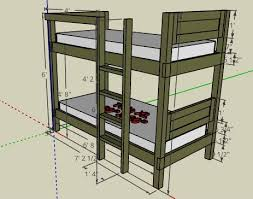 bunk bed with stairs plans. The Sketchup Basic Bunkbed Design Bunk Bed With Stairs Plans K