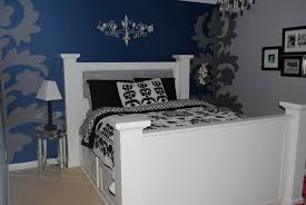 great pictures of blue and black bedroom design and decoration ideas cozy girl blue and