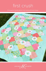 Best 25+ Fat quarter quilt ideas on Pinterest | Fat quarter quilt ... & First Crush is a fat-quarter friendly, twin-sized quilt that is actually Adamdwight.com