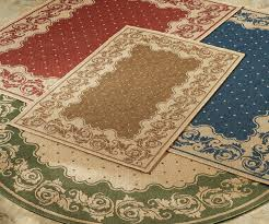 small round outdoor rugs