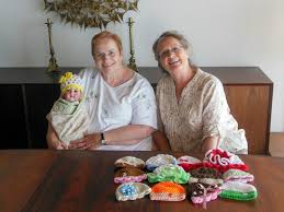 sharon reeves and connie merritt have made and given away sharon reeves and connie merritt have made and given away thousands of baby caps the san diego union tribune