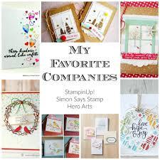 my favorite companies stampinup simon says stamp hero arts   my favorite companies stampinup simon says stamp hero arts
