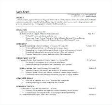 Grant Writer Resume Gorgeous Technical Writer Resume Sample Technical Resume Template Technical
