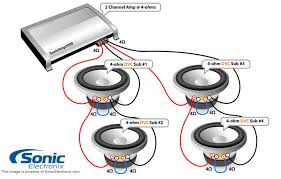 subwoofer wiring diagrams sonic electronix car speaker wiring diagram at Car Speaker Wiring