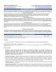 Sample Resume For Non Profit Organization Best of John R Gustafson PE's Resume