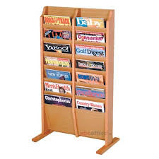 Free Standing Literature Display Best Freestanding Magazine Brochure Racks ABC Office