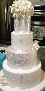 Top 10 Wedding Cakes With Pearls Elegant Inspiration