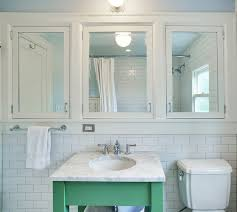 JAS Design Build MirroredmedicinecabinetBathroomgreenvanity Classy Inset Bathroom Cabinets Interior