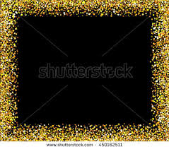 black and gold frame png. Exellent Png Gold Glitter Background Frame Sparkles On Black Vector  Illustration EPS 10 And Black Frame Png R