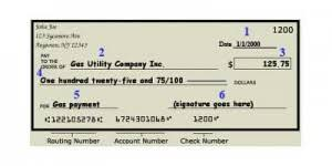 How To Write A Personal Check Example