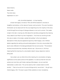 hills like white elephants essay example of exploratory essay cover letter example exploratory marked by teachers english essays easy simple classes