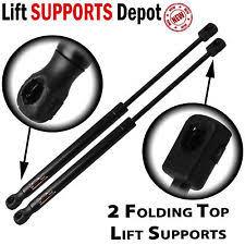 2006 chevrolet ssr qty 2 chevrolet ssr 2003 2006 folding top lift supports struts vt100080 1674sf