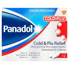 Panadol Cold Flu Relief Tablets 12