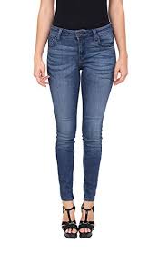 Cello Jeans Women Middle Rise Ankle Skinny Jeans With