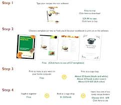 Online Cookbook Template Make Your Own Cookbook Free Nppa Co