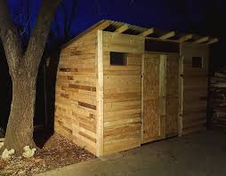 picture of pallet shed