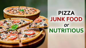 Junk Food Chart Pizza Junk Food Or Nutritious Healthy Diet Chart Day 6 100 Days Diet Plan