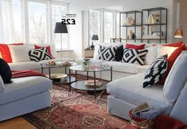 square red striped cushion stainless steel arm small living room ikea silver metal modern chandelier lighting