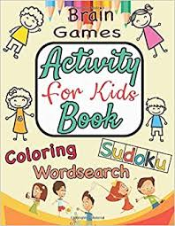 Discover free coloring pages for kids to print & color. Activity Book For Kids Brain Games Workbook Game For Everyday Learning Coded Coloring Pages Sudoku Word Search Puzzles And More Publishing Shaime 9798634343280 Amazon Com Books