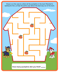 Coloring Paw Patrol Printables Maze Painting Games Coloring For