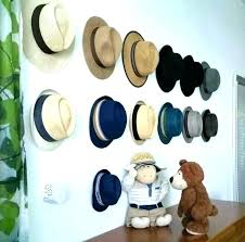 best hat holder for wall vintage mounted stand rack hooks hard coat and hanger hat hanger for wall rack mounted