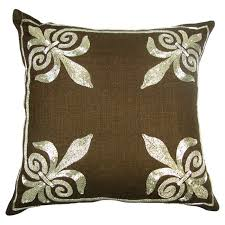 Fleur De Lis Decorative Pillows