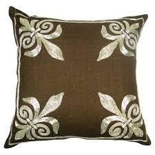 Fleur De Lis Decorative Pillows