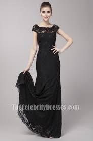 Elegant Off The Shoulder Black Formal Dress Evening Gown