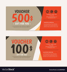 gift card formats gift voucher template eps10 format