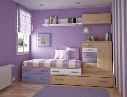 ... Cheerful Interior Design Ideas For Kids Room Themes : Fetching Purple  Theme Bedroom With Purple Furry ...