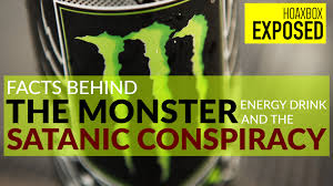 monster energy satanic. Wonderful Energy Is Monster Energy Hiding A Secret Satanic Conspiracy  Exposing The Hoax For
