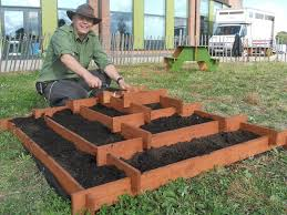 introduction slot together pyramid garden planter