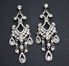 full size of vintage earrings bridal classicer rhinestone light archived on lighting with post large