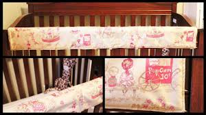 Crib Rail Cover Pattern Custom Ideas