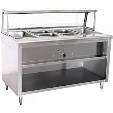 Est120 120 Steam Table 9 Wells Electric Kitchenall New York