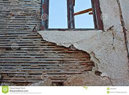 Old Lath And Plaster Wall Stock Photo Image - Plastering exterior walls