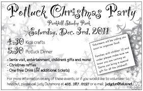Potluck Christmas Party Invitation Wording Office Potluck Invitation