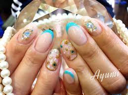 Nailsalon Clear Pe Twitter スキニーフレンチ 可愛い