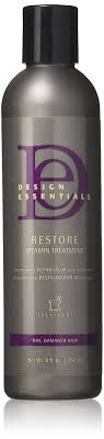 Design Essentials Restore Design Essentials Restore Vitamin Treatment For Natural Dry Damaged Hair 8 Oz